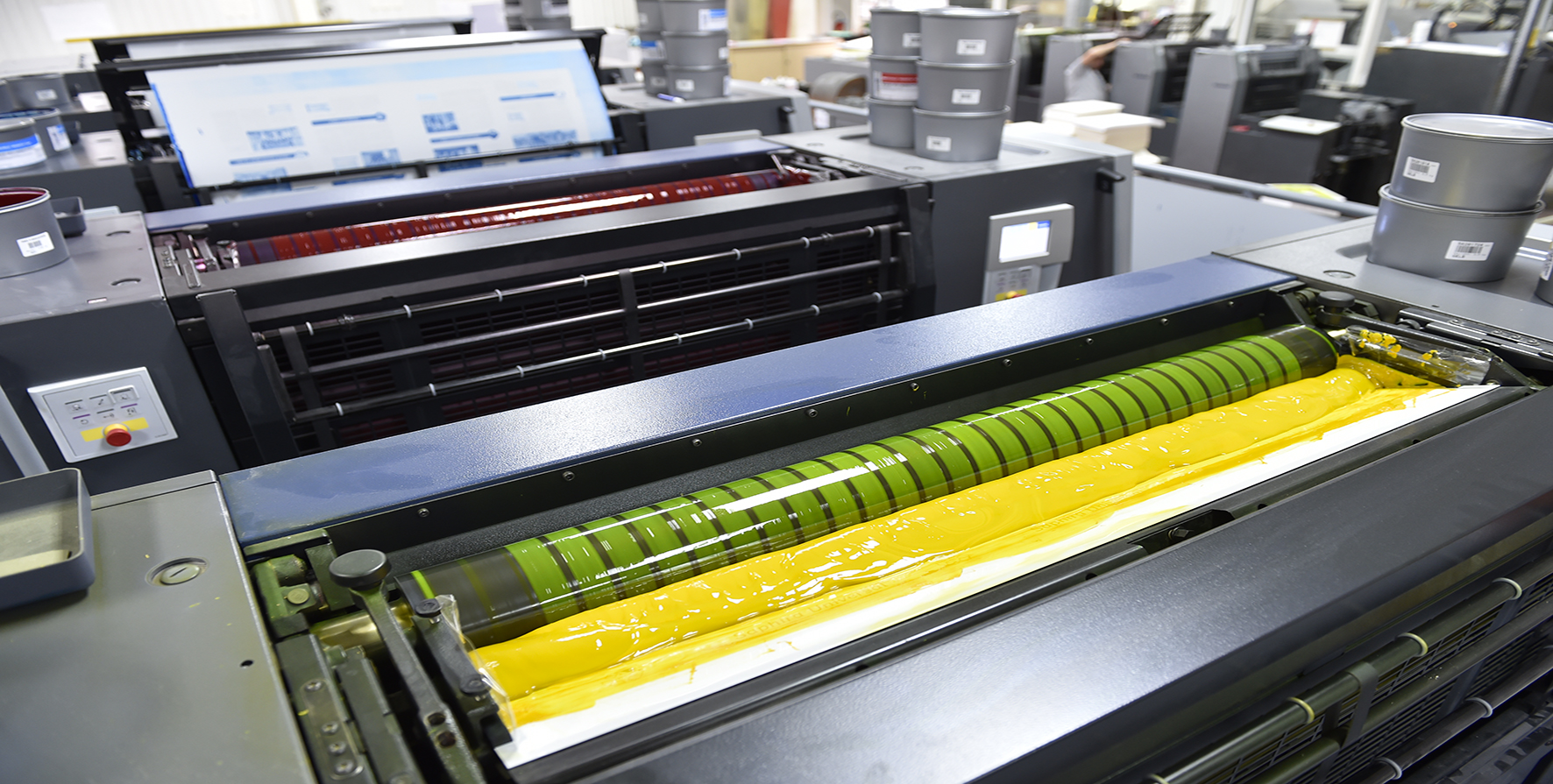 produits imprimés en offset